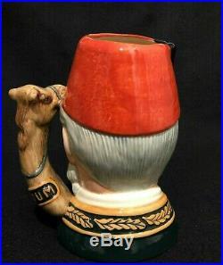 Royal Doulton'general Gordon' D6869 1991 Large Toby Character Jug 1/1500 Rare