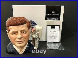 Royal Doulton'john F Kennedy' D7246 2006 Character Jug #35! Of 1000 Rare