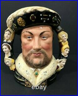 Royal Doulton'king Henry Viii' D6888 1990 Large Toby Character Jug #125/1991