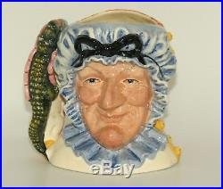Royal Doulton large Punch and Judy double sided Ltd Ed character jug D6946