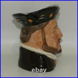 Royal Doulton large character jug Henry VIII D6642 made in UK GUARANTEED