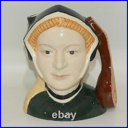 Royal Doulton large character jug Jane Seymour D6646 Henry VIII Wives