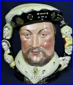 Royal Doulton large character jug KING HENRY V111 Ltd Ed D6888 number 1341