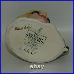 Royal Doulton large character jug MAE WEST D6688 The Celebrity Collection signed