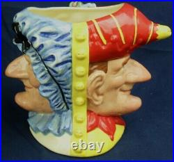 Royal Doulton large character jug PUNCH & JUDY MAN ltd edt collectors club only