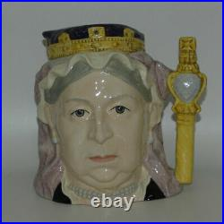 Royal Doulton large character jug Queen Victoria D6816 ROYALTY UK Made