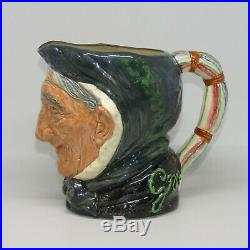 Royal Doulton large character jug Toothless Granny D5521 MINT CONDITION