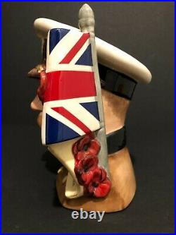 Royal Doulton'lord Kitchener' D7148 1999 Large Toby Character Jug #28/1500