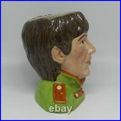 Royal Doulton mid size character jug The Beatles George Harrison D6727 MINT