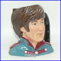 Royal Doulton mid size character jug The Beatles John Lennon D6725 MINT
