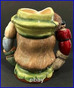 Royal Doulton'robin Hood' D6998 1995 Large Character Dual-handled Jug #45/2500