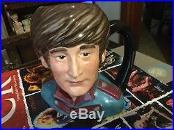 Royal Doulton set of 4 Beatles character jugs