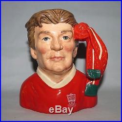 Royal Doulton small character jug Football Supporter Liverpool D6930