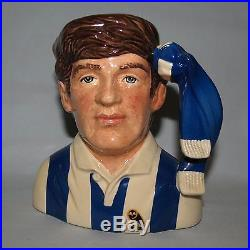 Royal Doulton small character jug Football Supporter Sheffield Wednesday D6958