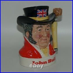 Royal Doulton small character jug John Bull Pick-Kwik Wines and Spirits Ltd Ed