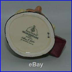 Royal Doulton small size character jug Shakespeare D6938 Guaranteed UK made