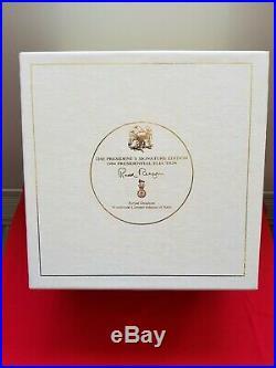 Royal doulton character jug Ronald Reagan with box and certificate