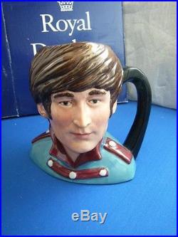 Royal doulton character jug the Beatles John Lennon D6725