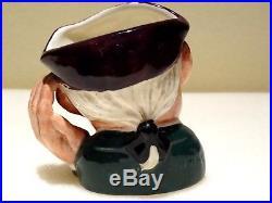 Royal doulton miniature character jug ard of earing d6594