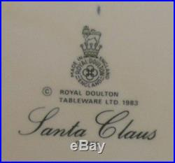 SANTA CLAUS Royal Doulton Large Character Jug Style THREE
