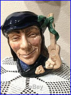 SCARAMOUCHE Royal Doulton Large Character Jug Style One
