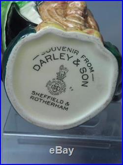 SMALL Royal Doulton SAIREY GAMP Character Jug Darley & Son Backstamp D5528