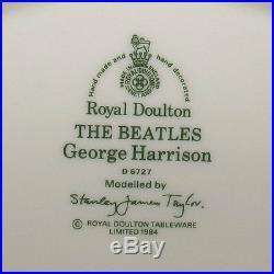Scarce Royal Doulton George Harrison Character Jug D6727 The Beatles