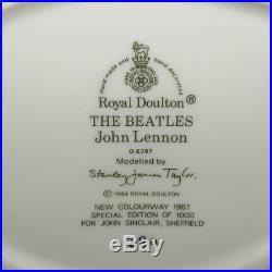 Scarce Royal Doulton John Lennon Red Coat Le Character Jug D6797 The Beatles