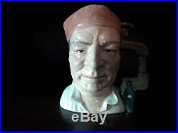 Scarce Royal Doulton Large Character Jug Cabinet Maker D7010
