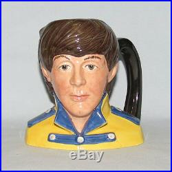 Scarce Royal Doulton Paul Mccartney Character Jug D6724 The Beatles