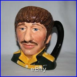 Scarce Royal Doulton Ringo Starr Character Jug D6726 The Beatles