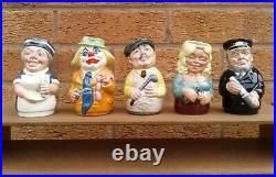 Set Of 25 Doultonville Character Jugs By Royal Doulton Boxed