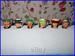 Set of Royal Doulton Character Toby Jug Tiny TiniesAll 12 Mint 12 All original