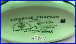 Small Royal Doulton Character Jug Charlie Chaplin D7145 Limited Edition