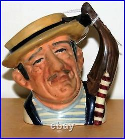 Small Royal Doulton Character Jug Gondelier D6592 Excellent