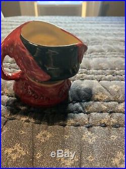 Small Royal Doulton Jug Trial Colourway Character Jug Falstaff D6385 Mug Toby