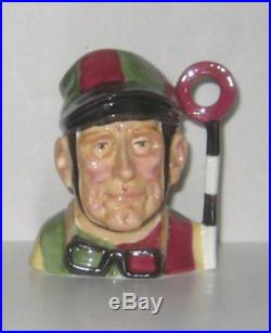 Super Rare Royal Doulton Prototype Sm. Jockey Character Jug Excellent Condition