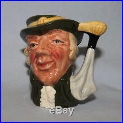 Super scarce Royal Doulton miniature character jug Regency Beau D6565 MINT