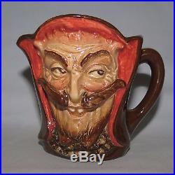 Super scarce Royal Doulton small size Mephistopheles character jug