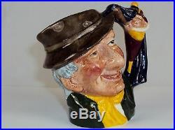 Toby Character Jug (Small) Punch & Judy Man Royal Doulton, 1963, #9120140
