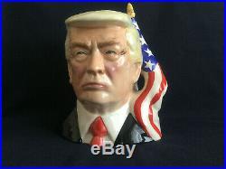 Toby Jug. Donald Trump. President. Political. Bust. Republican. Character jug