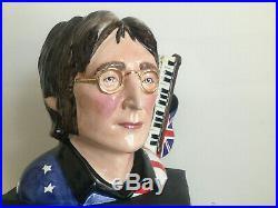 Toby jug. Character jug. John Lennon. Jug. Beatles. Music. CD. Record. LP. Sgt pepper