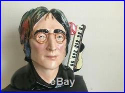 Toby jug. Yoko Ono. John Lennon. Jug. Beatles. Character jug. LP. Sgt pepper