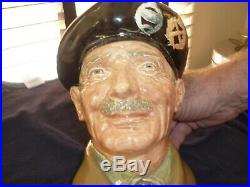 Two Royal Doulton Character Jug. General Eisenhower And General Monty Montgomery