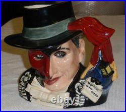 ULTRA RARE Royal Doulton Phantom Of The Opera Character Toby Jug D7017 GIFT