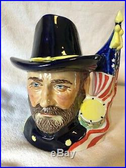 Ulysses S Grant Lg Character Toby Jug Mug Prestige Collectors Ceramics Civil War