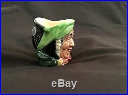 VERY RARE Royal Doulton SAIREY GAMP Mini Character Toby Jug Mug Toothpick Holder