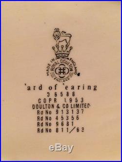 VERY RARE Royal Doulton large Ard Of Earing character jug