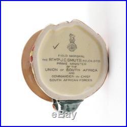 Very Rare 1947 ROYAL DOULTON FIELD MARSHALL SMUTS CHARACTER JUG D6198