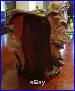 Very Rare Large Royal Doulton Character Toby Jug Mephistopheles